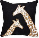 Jonathan Adler Animalia Beaded Giraffe Throw Pillow