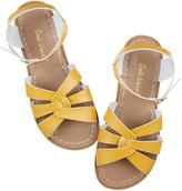Salt Water Salt-Water - Original Rose Gold Sandals - UK 3 (EUR 36) | leather | mustard yellow - Mustard yellow