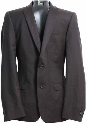 De Fursac Black Wool Jackets