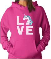 TeeStars - I Love Unicorns - Magical Gift For Unicorn Lovers Women Hoodie