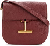 Tom Ford T-clasp crossbody bag - women - Cotton/Calf Leather/Polyester - One Size