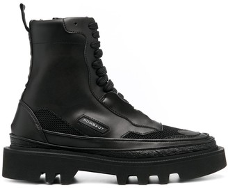 Rombaut Lace-Up Leather Boots
