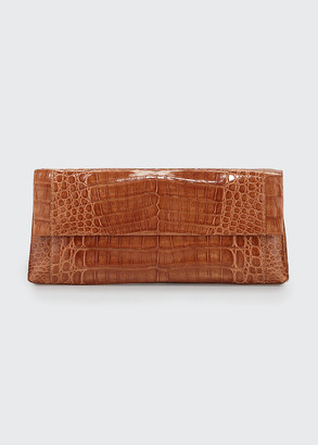 Nancy Gonzalez Gotham Crocodile Clutch Bag