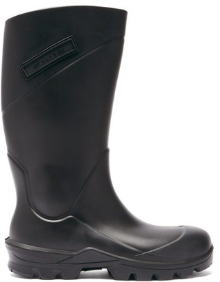Alyx Logo-plaque Rubber Rain Boots - Black