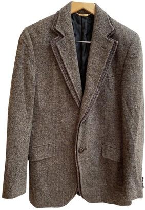 Dolce & Gabbana Brown Tweed Jackets