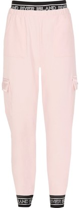River Island Girls light pink RI Active utility joggers