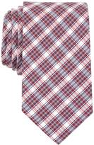 Nautica Silk Blend Red Plaid Tie