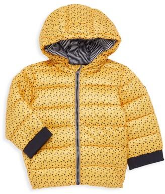 Petit Bateau Baby Boy's Star-Print Puffer Coat