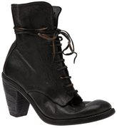 Guidi Lace-up ankle boot