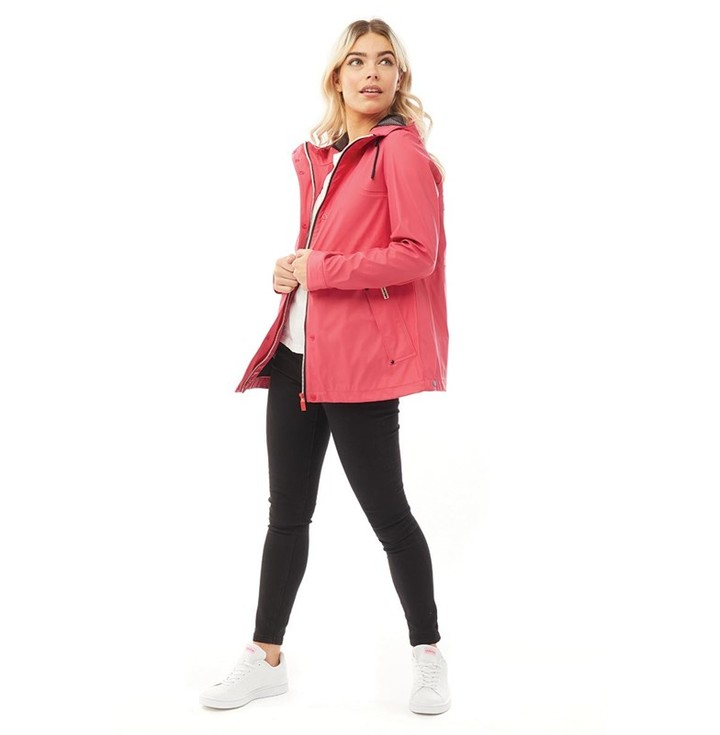 Thumbnail for your product : Hunter Womens Original Lightweight Rubberised Jacket Bright Pink
