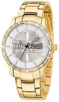 Just Cavalli r7253127506 38mm Gold Band Women's Watch
