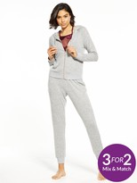 Very Lounge Cosy Zip Through Hoody And Lounge Pant