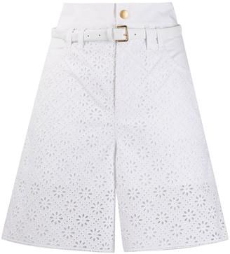 Philosophy di Lorenzo Serafini Lace Bermuda Shorts