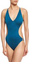 Milly Hvar Italian Monokini One-Piece Swimsuit