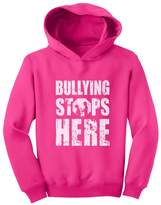 TeeStars - Bullying Stops Here - Wear Against Bullying Toddler Hoodie