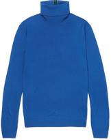 Paul Smith - Slim-fit Striped Merino Wool Rollneck Sweater