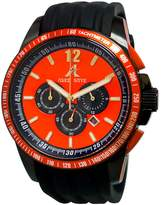 Adee Kaye Men's AK7141-M Ak7141/Rd Artfully Designed Dial Protected With A Durable Mineral Crystal Watch