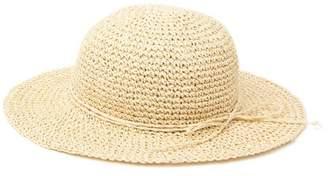 SAN DIEGO HAT Woven Paper Floppy Hat