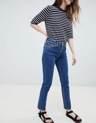 Wood Wood Lou Vintage Straight Cut Jeans