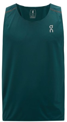 On Tank-t Technical-jersey Running Top - Mens - Green
