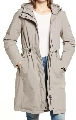 Joules Charlbury Waterproof Insulated Hooded Raincoat