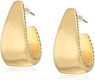 The SAK Women's Large Post Hoop Earrings