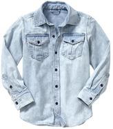 Gap Long-sleeve denim shirt