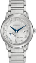 Citizen Men's Eco-Drive Stainless Steel Bracelet Watch 41mm AW7020-51A