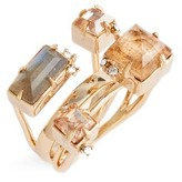 Alexis Bittar Women's Geo Crystal Ring