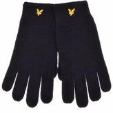 Lyle & Scott Racked Rib Gloves Navy