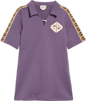 Gucci Logo Cotton Polo Dress