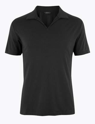 Marks and Spencer Supima Cotton Blend Pyjama Top