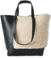 Whistles Hampson Shearling Tote