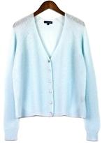 Rib Knit Cloud Cashmere Cardigan