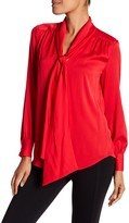 Trina Turk Deming Silk Blend Blouse