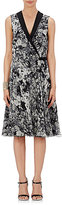 Lanvin Women's Floral Silk Wrap-Front Dress