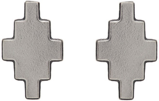 Marcelo Burlon County of Milan Silver Cross Stud Earrings