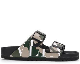 Valentino x Birkenstock VLTN slide sandals