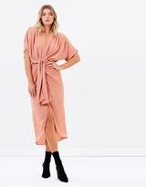 Mojito Plunge Midi Dress