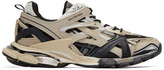 Balenciaga Beige and Black Track.2 Sneakers