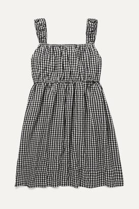 Solid & Striped Kids - Gingham Seersucker Dress - Black