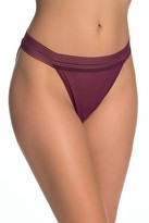French Connection Sheer Mesh String Bikini - Pack of 2