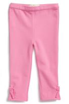 Kate Spade Kids Bow Ponte Knit Legging (Baby Girls)