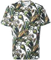 Salvatore Ferragamo foliage print T-shirt - men - Cotton - XS
