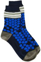 Paul Smith dots and stripes socks