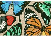 Liora Manné Trans Ocean Imports Frontporch Butterfly Dance Indoor Outdoor Rug