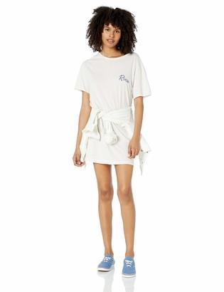 RVCA Womens Next Wave Oversized T-Shirt Dress