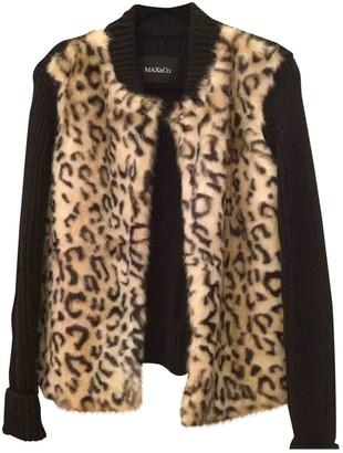 Max & Co. Black Faux fur Coat for Women