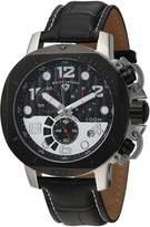 Swiss Legend Men's 10538-01-BB-SP Scubador Collection Chronograph Leather Watch