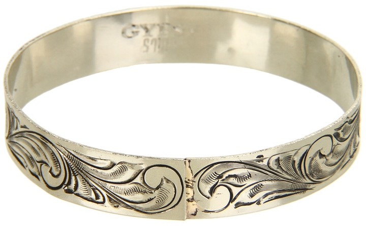 Gypsy SOULE Live Out Loud Bangle (Silver) - Jewelry